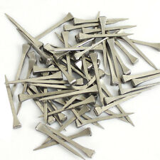 "100 Pcs 2"" Stainless Steel Horseshoe Nails For Stained Glass Equestrian Sports"