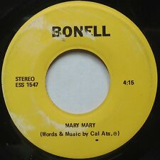 MARY MARY obscure 45 on BONELL rare UNKNOWN hear it