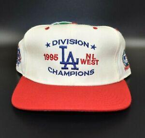 Los Angeles Dodgers Vintage New Era 1995 NL West Champions Snapback Cap Hat