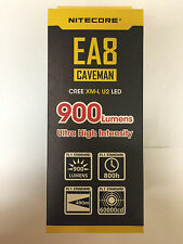 BRAND NEW NITECORE EA8 900 Lumen Flashlight