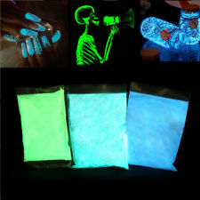 DIY 50g 3 Color Bright Fluorescent Glow-in-the-Dark Powder Glow Pigment Paint