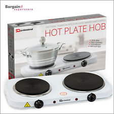 2500 Watts Electric Hot Plate Portable Cooking Hob Stove Cooker Ring Boiling