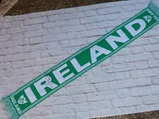 Echarpe scarf IRLANDE EIRE signed signé SHAY GIVEN foot ultras IRELAND