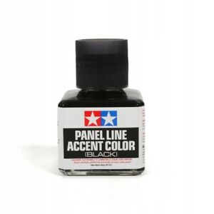 40ml TAMIYA PANEL LINE ACCENT COLOR BLACK for Plastic Model Kits #87131