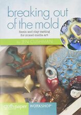 BREAKING OUT OF THE MOLD With Jen Cushman DVD (Resin and Clay Casting) >NEW<