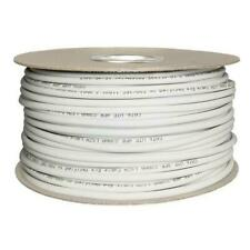 Cat6 Solid LSZH Cable 100m Reel White 100% Copper Data Networking Ethernet