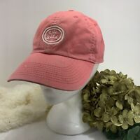 Life is Good Embroidered Logo Hat Adjustable Strapback Red One Size