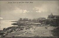 Juniper Point Homes From Salem MA c1910 Postcard