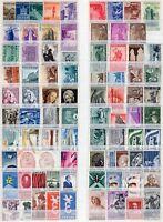 Repubblica - Lotto di 83 francobolli, 1946/57 - Nuovi (** MNH)