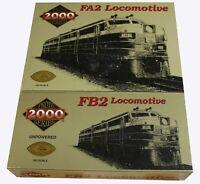 Proto 2000 Series FA2 & FB2 HO Scale Pennsylvania Railroad