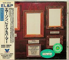 Emerson, Lake & Palmer- Pictures At An Exhibition Live 1971 CD JAPAN VICP-23104