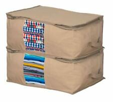 Home Organizer Under Bed Storage Bag Container for Clothing SET OF 2