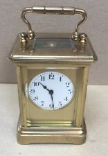 Antique Miniature French Carriage Clock