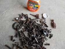 Farmall H Ih Tractor Assortment Of Nuts Bolts Parts Pieces Brake Parts