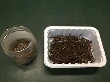 Lot of Antique & Vintage Iron Rosehead & Cut Nails ~ About 2.5 Lbs