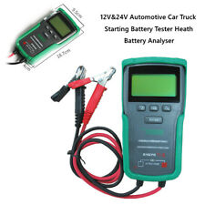 1PC 12V/24V Automotive Car Starting Battery Tester Heath Battery Analyser Tools