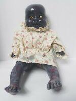 OOAK Halloween Zombie Reborn Baby Doll Haunted Horror Gothic Evil Prop Creepy 17