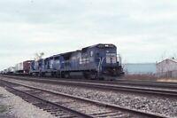 CONRAIL Railroad Locomotive CR 5063 Original 1991 Photo Slide