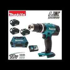 CONDUCTOR DE PERFORACIÓN MAKITA DHP453RF3J 18VOLT 3 Batería 3.0ah LITIO