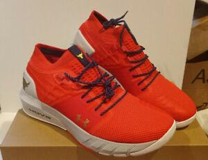 Under Armour Project Rock 2 Sneakers Blood Orange Training NIB Dwayne Johnson UA