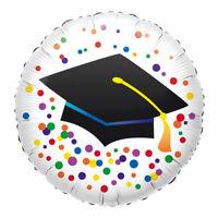Folienballon Abschluss Glückwunsch Ø 43 cm Bachelor Master Uni Heliumballon