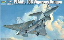 Trumpeter 1/48 PLAAF J-10B Vigorous Dragon # 02848