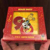 Mickey Mouse 90th birthday jumbo Pin Shanghai Disney Limited Edition Le500