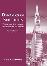 Dynamics of Structures by Anil K. Chopra (2011, Paperback, Revised)