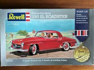 1/25 Revell Mercedes-Benz 190 SL ROADSTER (Rare LTD Edition factory sealed box)