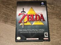 The Legend of Zelda Collector's Edition Nintendo Gamecube w/Case Authentic