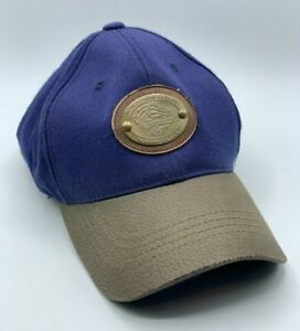 Breeders Cup 2006 Churchill Downs Navy Cotton Leather Bill Baseball Hat