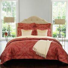 NIP SFERRA Miretta Cayenne Jacquard Egyptian Cotton Duvet Full/Queen Cover Set
