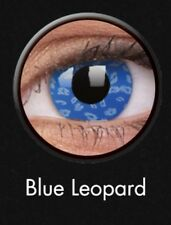 Crazy Contact Lenses Lentilles Kontaktlinsen Blue Leopard Devil Zombie Colour UK