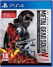 Metal Gear Solid V 5-la experiencia definitiva | PlayStation 4 PS4 Nuevo