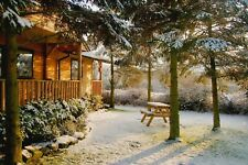 Winter 2 Night Weekend Break in Log Cabin with Hot-Tub at Rocklands Lodges