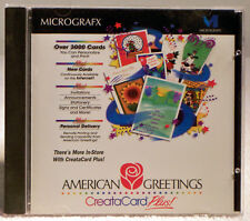 American Greetings CreataCard Plus by Micrografx version 1.01 from 1996