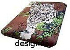 Solaron Korean Blanket throw Thick Mink Plush queen size Crouching Tiger License