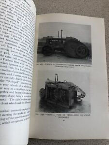 1945 Farm Tractor Machinery Book Over500 Pages Photos Ferguson Fordson *WOW LOOK