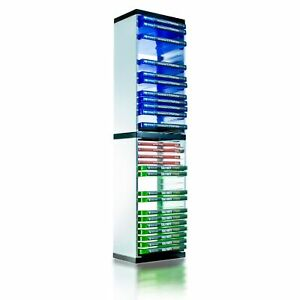 36 Game Storage Tower for PS5 PS4 PS3 Xbox One Series S/X & Blu-Ray discs