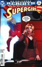 Supergirl #5 Bengal Variant Cover DC Comics 2017 DCU Rebirth