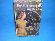 Nancy Drew Mystery Stories: The Mystery of the Fire Dragon No. 38 by Carolyn ...