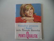 - CATALOGO DEPLIANT LA GRANDE RACCOLTA PUNTI QUALITA' PALMOLIVE - ANNI '60