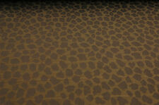 GOLD ANIMAL SPOTS UPHOLSTERY FABRIC 10 YDS