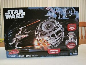 STAR WARS AIR HOGS X-WING VS. DEATH STAR REBEL ASSAULT--NEW--UNOPENED