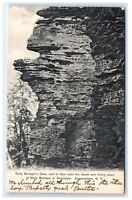 Postcard Natty Bumppo's Cave, Cooperstown NY 1906 C7
