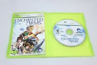 Enchanted Arms (Microsoft Xbox 360, 2006) Complete with Disk, Case, Game Manual