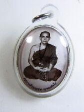Locket Kruba Boonchum Yannasangwalo Thai Amulet good monks For Lucky BE.2557