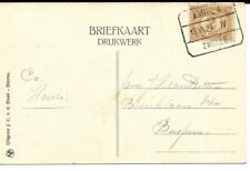 Treinblokstempel Arnhem - Zwolle IV 1922 naar Bussum