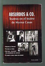 Myrna Casas Absurdos & Co Teatros Absurdo En Soledad Al Garete Puerto Rico 2011