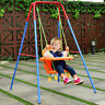 Kinderschaukel Babyschaukel Gartenschaukel Babyschaukelsitz mit Schaukelgerüst